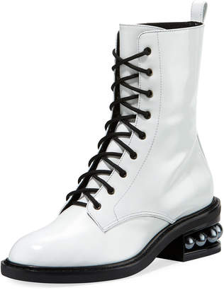 Casati Pearly Combat Boot