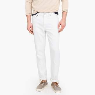 J.Crew 484 Slim Stretch Jean In White
