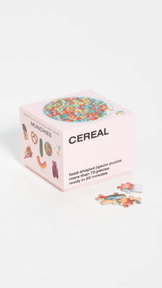 Areaware Gift Boutique Cereal Little Puzzle Thing