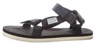 Suicoke Satin Ankle Strap Sandals