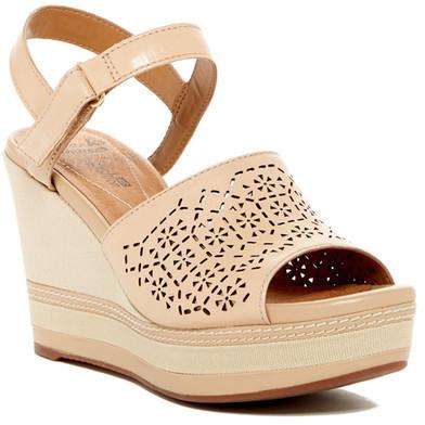ClarksClarks Zia Graze Platform Wedge Sandal