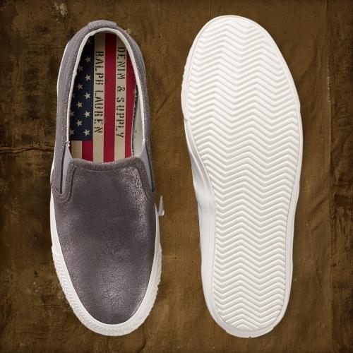 Denim & Supply Ralph Lauren Reave Vintage Metallic Sneaker