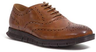 Deer Stags Men's Benton Memory Foam Classic Lace-up Wingtip Hybrid Sneaker Dress Comfort Brogue Men's Shoes
