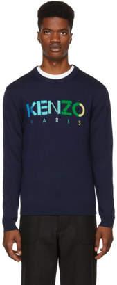 Kenzo (ケンゾー) - Kenzo ネイビー Paris セーター