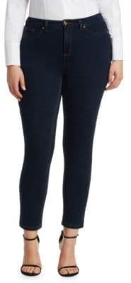Marina Rinaldi Ashley Graham x Idillio Jersey Denim Slim Jeans