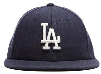 22dc5088c26 Todd Snyder + New Era LA Dodgers Cap In Navy Pinstripe