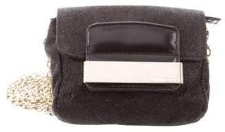 Jimmy Choo Mini Glitter Crossbody Bag