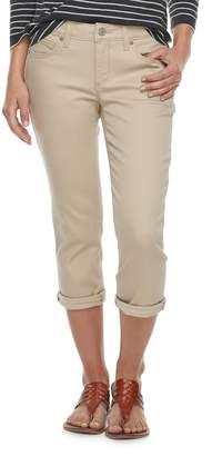 Sonoma Goods For Life Women's SONOMA Goods for Life Cuffed Capri Jeans