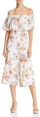 Sage the Label Gigi Off-the-Shoulder Floral Jumpsuit - 100% Exclusive