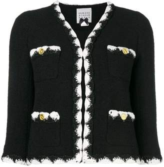 Edward Achour Paris bouclé knit jacket