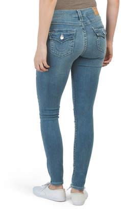 Halle Skinny Jeans With Back Pocket Flap