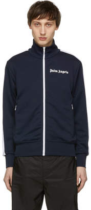 Palm Angels Blue and White Classic Track Jacket