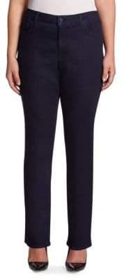 NYDJ NYDJ, Plus Size Plus Straight-Leg Jeans
