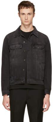 Stella McCartney Black Denim Trucker Jacket