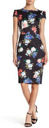 Betsey Johnson Scuba Midi Dress $148 thestylecure.com