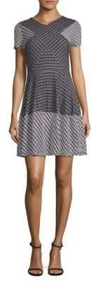 BCBGMAXAZRIA Elyze Fit-&-Flare Dress
