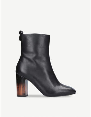 Kurt Geiger London Strut leather ankle boots