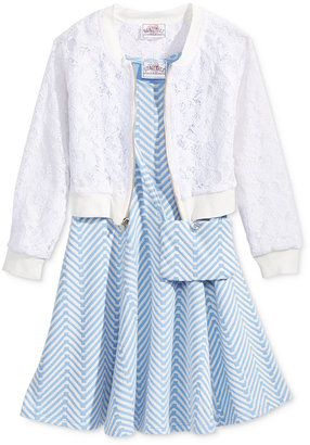 Beautees 3-Pc. Jacket, Dress & Purse Set, Toddler & Little Girls (2T-6X) $56 thestylecure.com