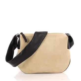 Celine Beige Suede Handbag