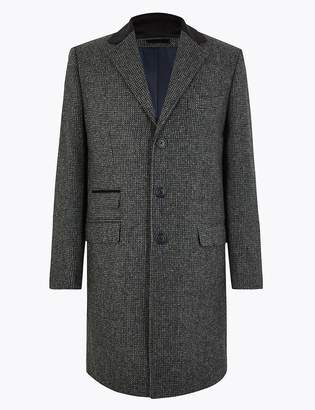 Marks and Spencer Pure Wool Overcoat