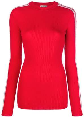 Fiorucci logo band knitted top