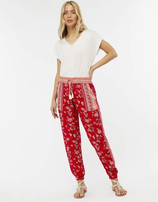 Monsoon Priscilla Print Trousers