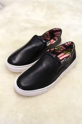 Mae Be Shoes Shyla Leather Slip-On