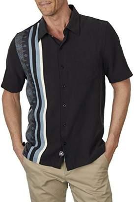 Nat Nast Men's Novelty Traditional Fit Short Sleeve Shirt