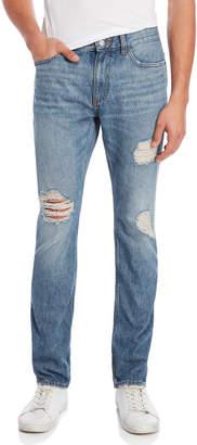 Calvin Klein Loki Slim Fit Distressed Jeans