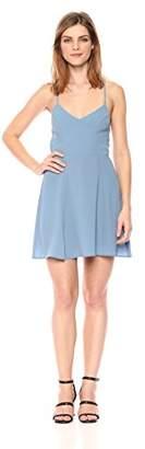 Show Me Your Mumu Women's Victoria Mini Dress WIH Cross Back