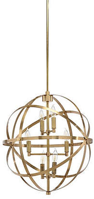 Orbit 6-Light Pendant - Brass - Wildwood