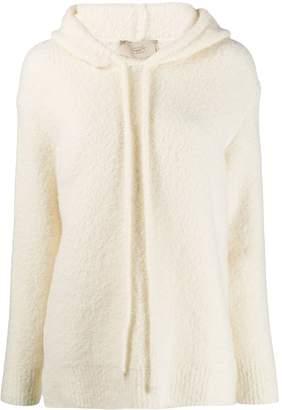 Maison Flaneur hooded knit jumper