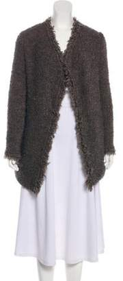 IRO Campbell Open Front Cardigan Brown Campbell Open Front Cardigan