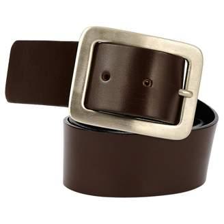 Saint Laurent Brown Leather Belts