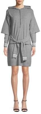 Sandro Wool-Blend Knitted Dress