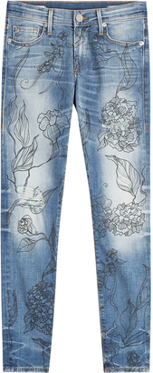 True Religion Halle Jeans with Floral Print $255 thestylecure.com