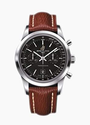 Breitling Unisex Trans Ocean Automatic Chronograph Leather Band Watch A4131012/BC06/221x