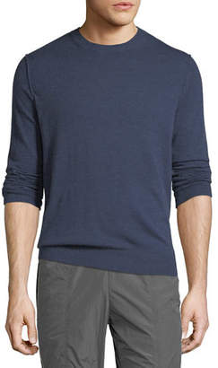 Vince Men's Heathered Crewneck Sweater