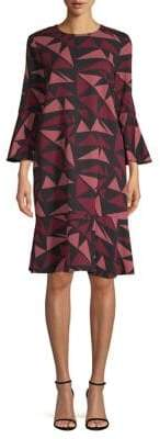 Lafayette 148 New York Billie Fluted Sleeve Dress