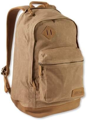 L.L. Bean L.L.Bean Classic Teardrop Waxed-Canvas Backpack