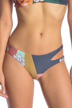 O'Neill Cindy Floral Cutout Swim Bottoms