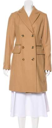 MICHAEL Michael Kors Wool Double-Breasted Coat