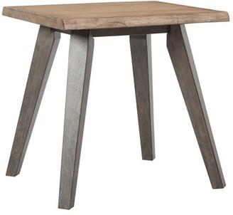 Inspired by Bassett Oakridge End Table in Rustic Sand K/D
