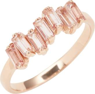 Suzanne Kalan Rose Gold Amalfi Wave Band Ring