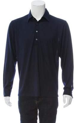 Joseph Abboud Long Sleeve Cashmere Polo