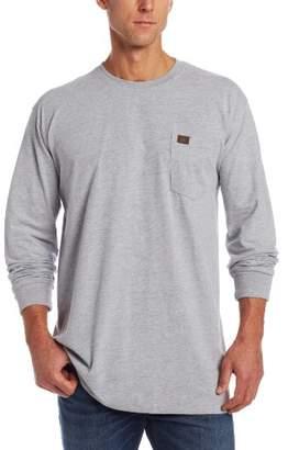 Wrangler Riggs Workwear Men's Big & Tall Long Sleeve Pocket T- Shirt