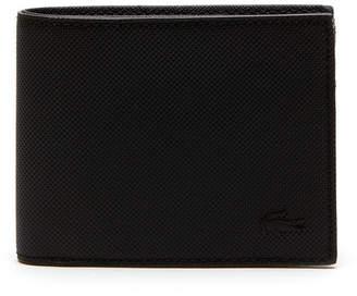 Lacoste Men's Classic Petit Piqué Flat Wallet
