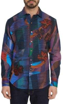 Robert Graham Classic Fit Cotton Sportshirt