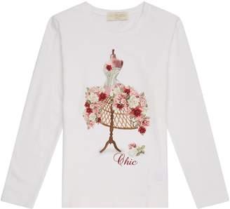 MonnaLisa Floral Mannequin T-Shirt