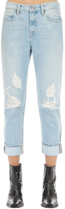 Frame Le Pegged Mid Rise Boyfriend Denim Jeans